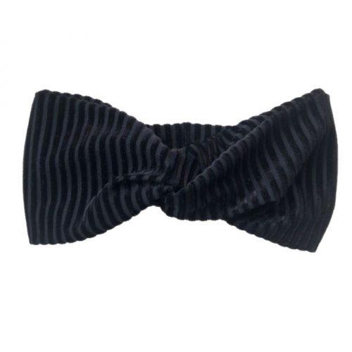 Velvet Black Stripe